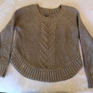 Aerie oatmeal colored sweater